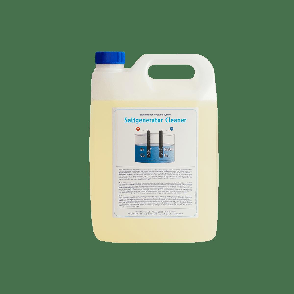 Saltgenerator Cleaner