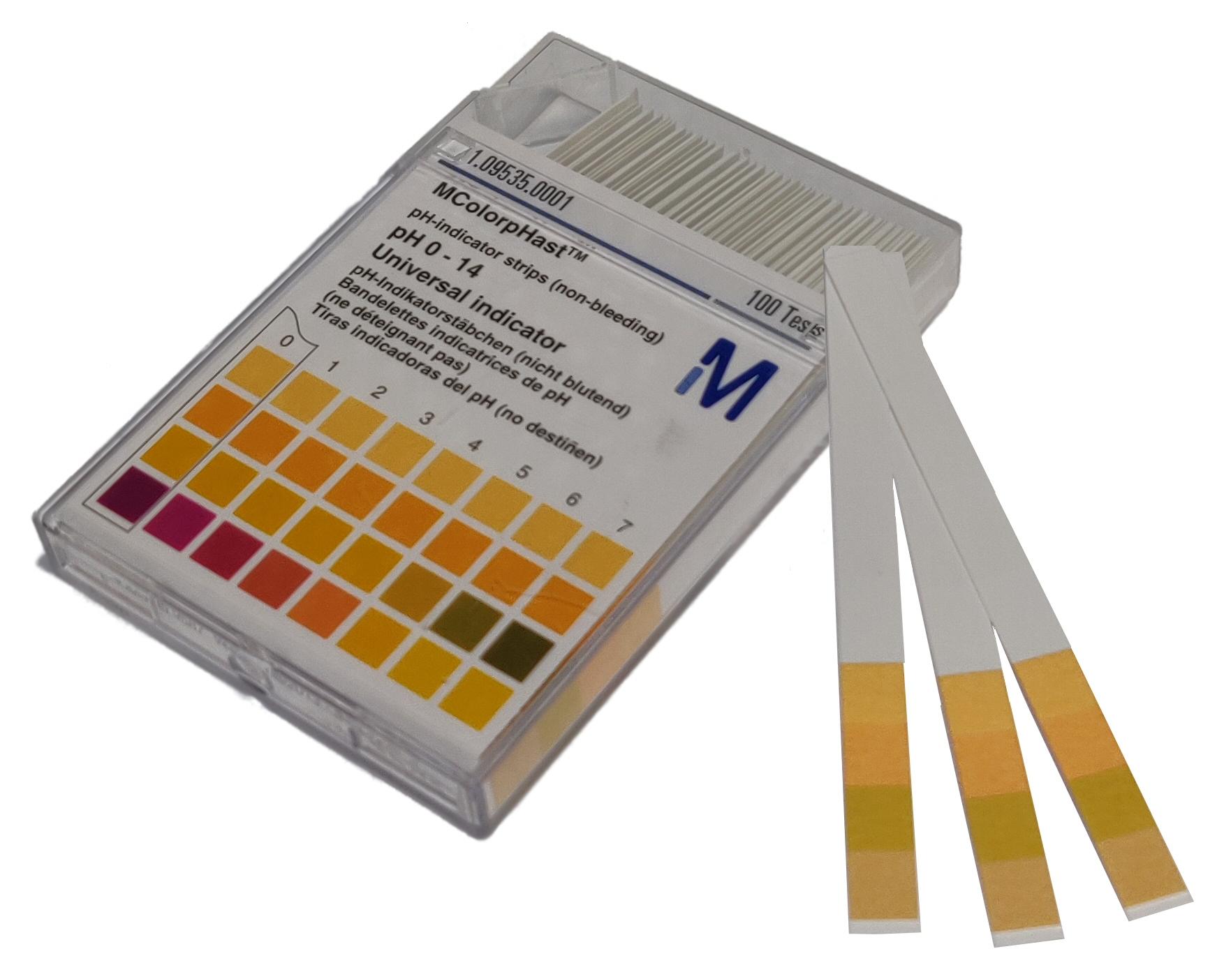 pH-Indikatorstrimler