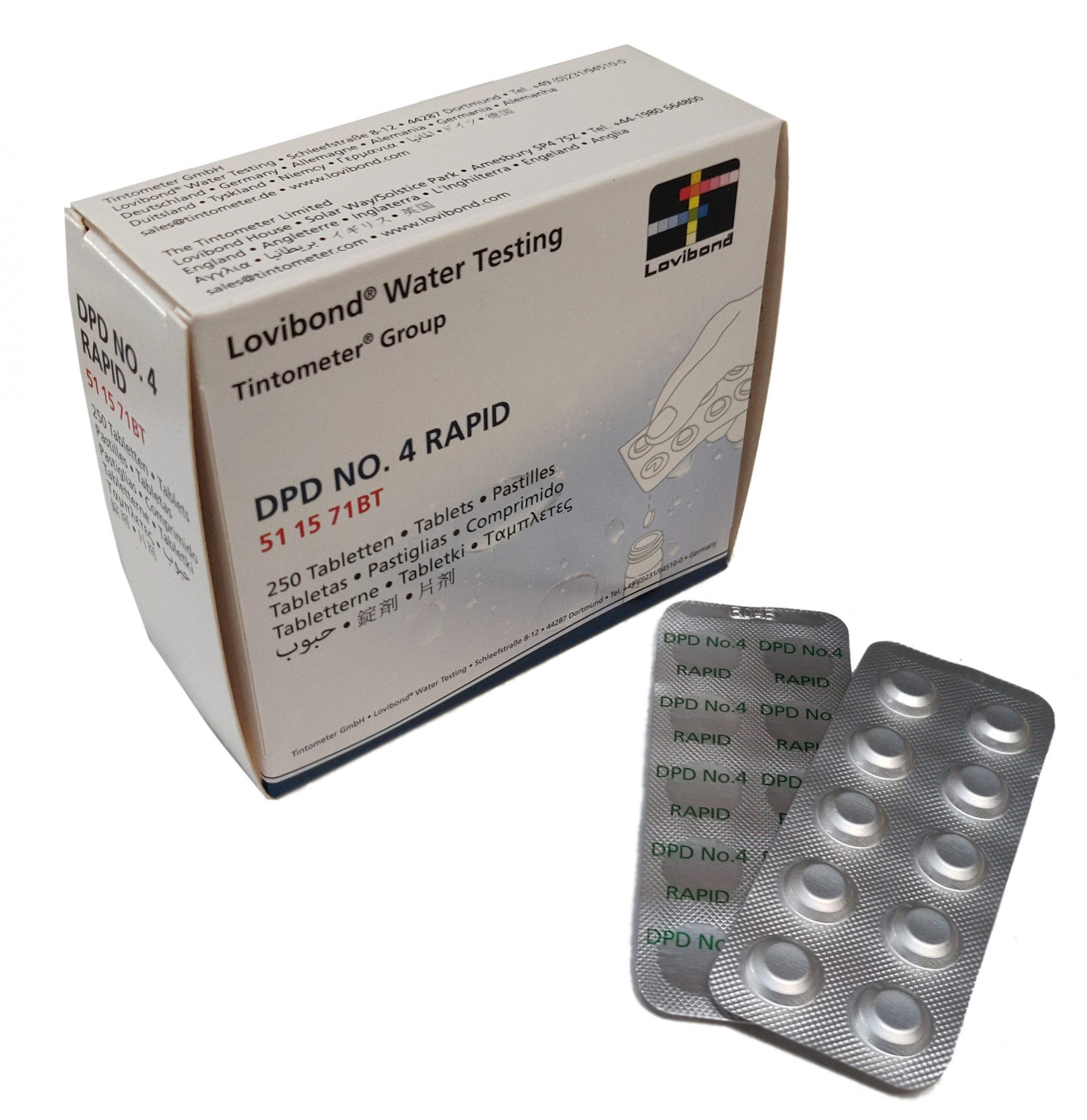 DPD Nr. 4 Rapid, Aktiv Oksygen (håndrister)